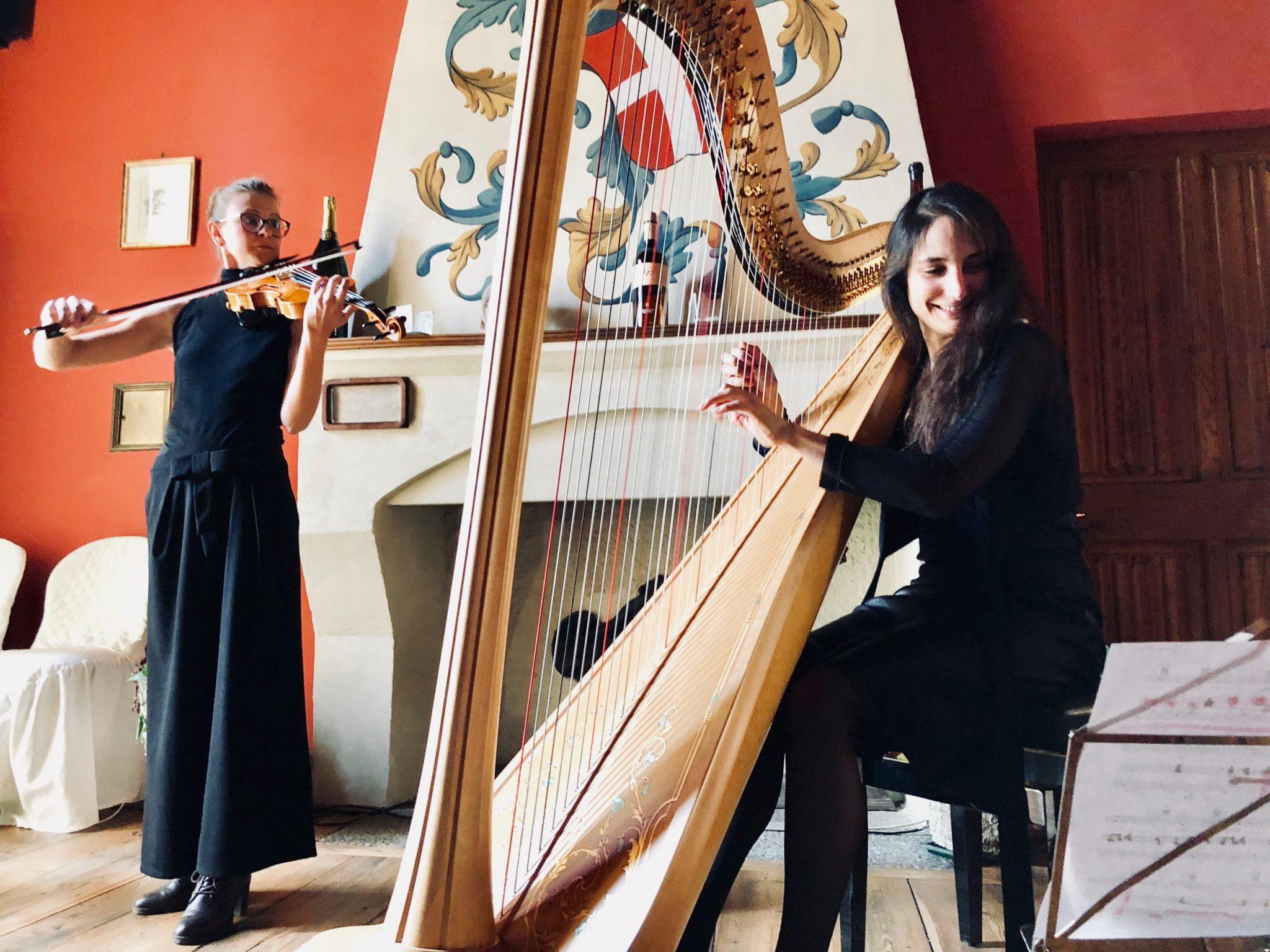 violino arpa cerimonia religiosa