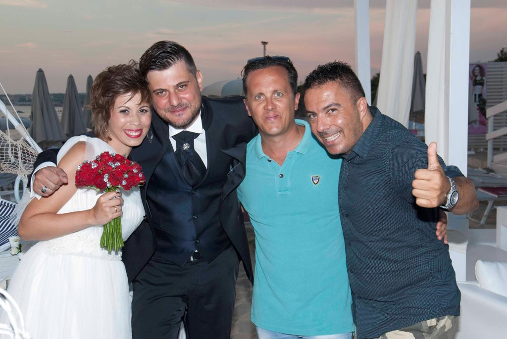 Matrimonio in spiaggia al Zeus Beach di Gallipoli