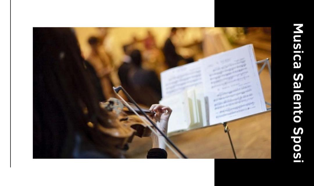 Le musiche più belle per il matrimonio in chiesa (Lecce)